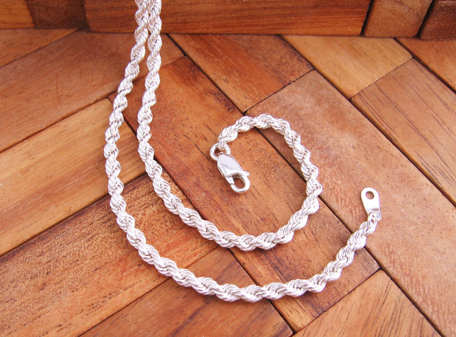 6fe96f1caa25 Cordón Salomónico de Plata de 1ª Ley 925 ml - PlataOle.com