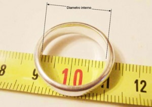 ¿Cómo saber la talla de anillo?