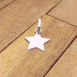 Colgante Estrella Lisa