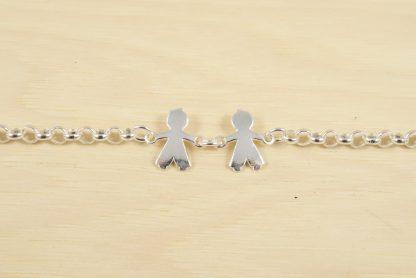 pulsera-dos-niños-plata-1