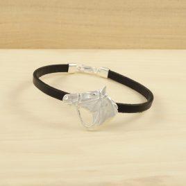 pulsera-caballo-plata-cuero-1