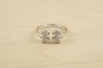 anillo-dos-niñas-plata