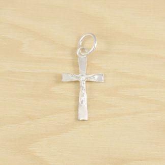 Colgante Cruz con Cristo de Plata de Ley 925